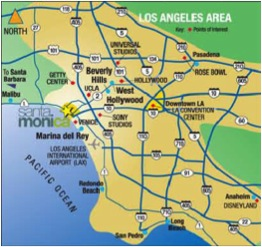 Santa Monica Is A Haven For Those Seeking An Active Outdoors Vacation The Open Air Pedestrian Only Third Street Promenade Huge Draw Its